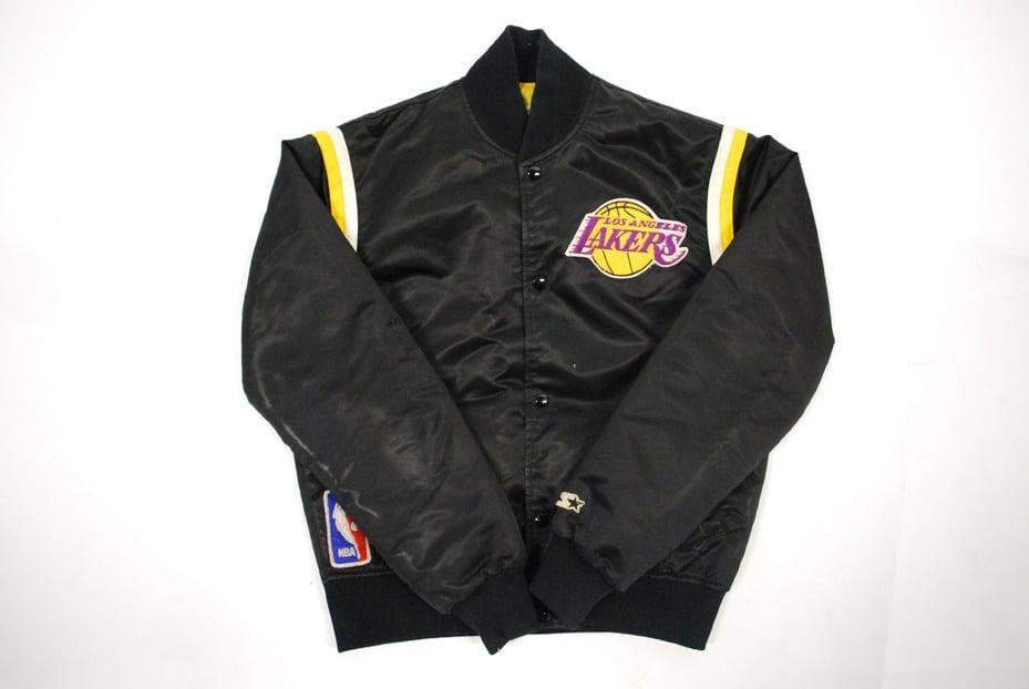 The Vintage Cave Starter Lakers Jacket