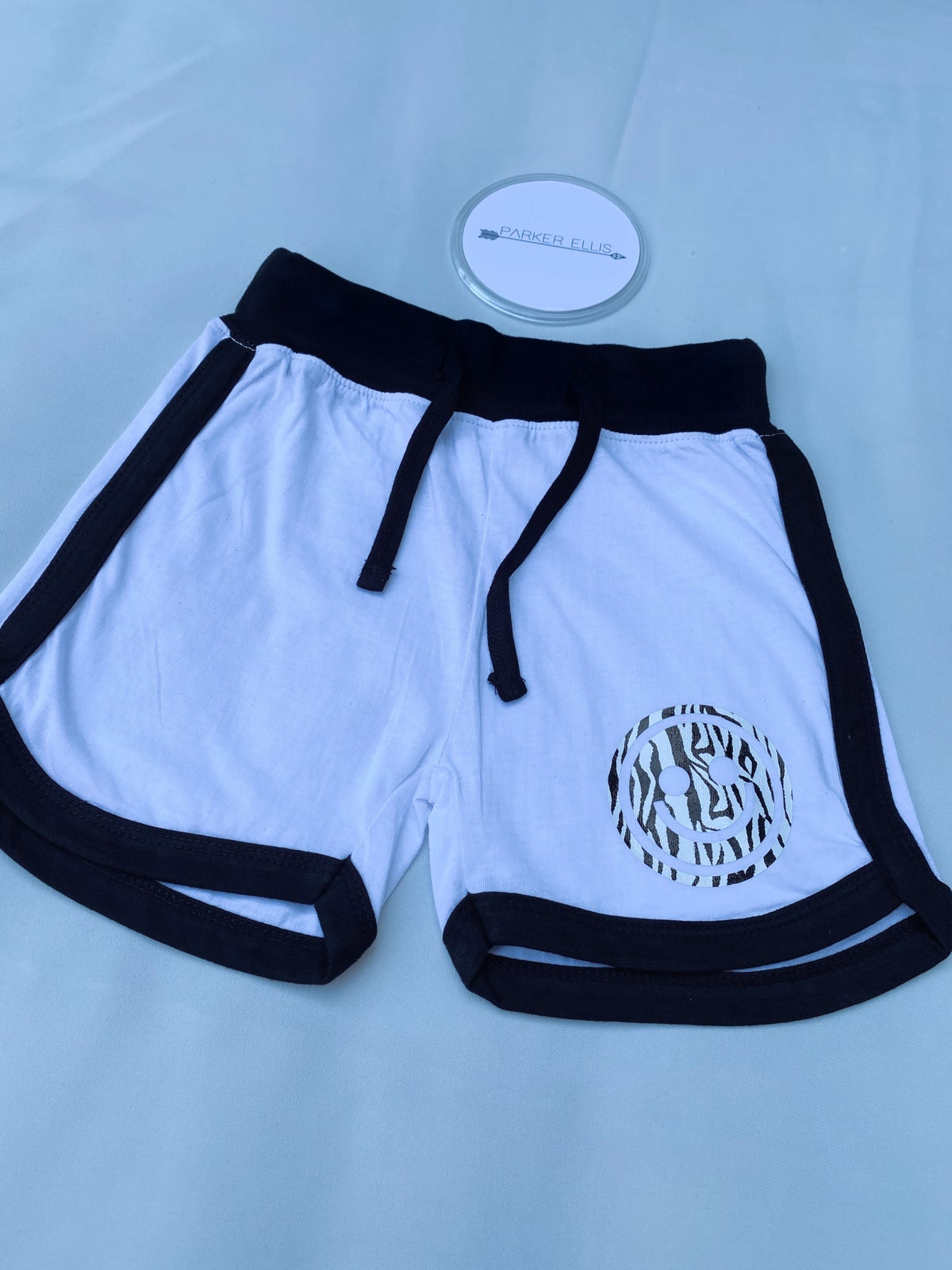 Image of Smile Shorts in White