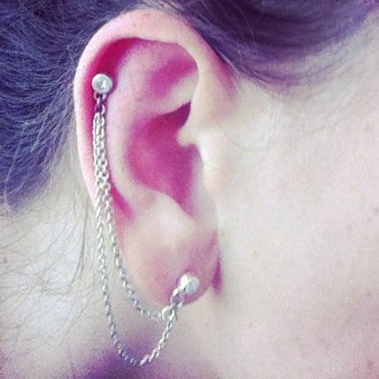Image of Meteoroid Cartilage Earring