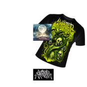 Image of PRE ORDER CATHARSIS FULL LENGTH CD/ BLACK SHIRT BUNDLE