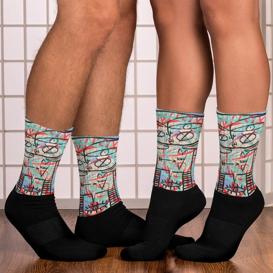 Image of Subway Map Series Socks