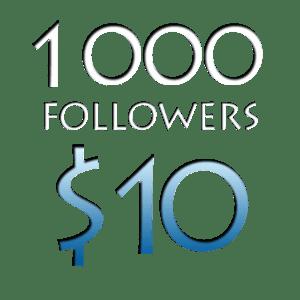 Image of 1000 Worldwide Twitter Followers