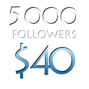 Image of 5000 Worldwide Twitter Followers