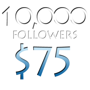 Image of 10,000 Worldwide Twitter Followers