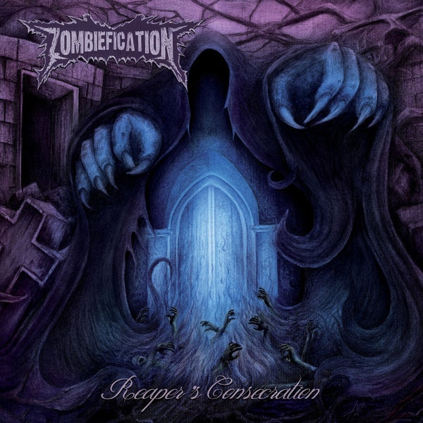"Image of ZOMBIEFICATION ""Reaper's Consecration"" Super Jewel Box Mini CD"