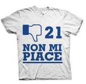 21 NON MI PIACE TSHIRT - HONIRO STORE