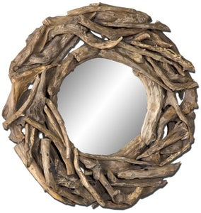 Image of Teak Root Mirror