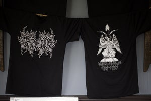 Image of Black Metal Shirt
