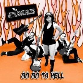 "Image of The Evil Streaks ""Go Go To Hell"" E.P. - 7"" Vinyl"