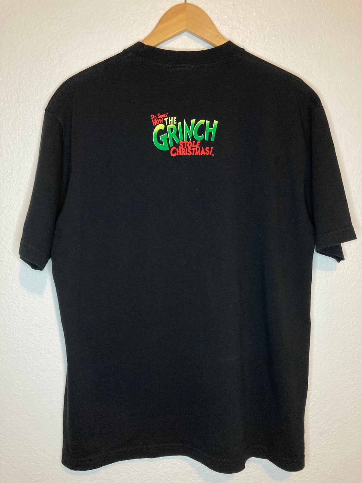 2000 Dr.Sues How The Grinch Stole Christmas Tee