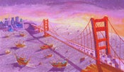 Image of Example Print 'The Golden Gate Bridge - San Francisco'
