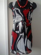 Image of Red White & Black Top Free Shipping