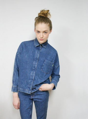Image of C632 - Denim Button Top