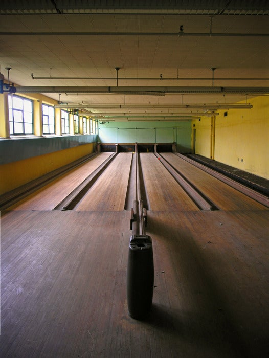 Image of Norwich State Hospital Bowling Alley