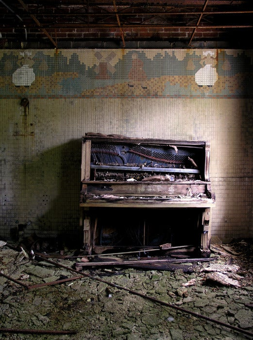 Image of Norwich State Hospital Piano