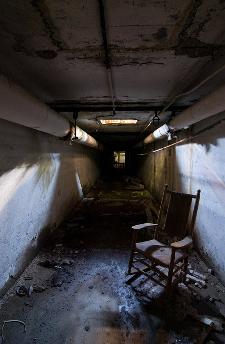 Image of Norwich State Hospital Tunnel