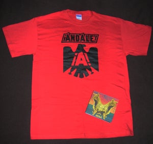 Image of ¡ANDALE! CD+ T-Shirt Bundle (Save 25%!)
