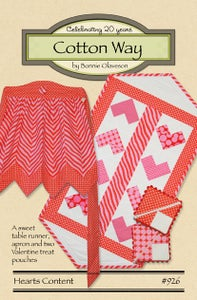Image of Hearts Content - Paper Pattern #926