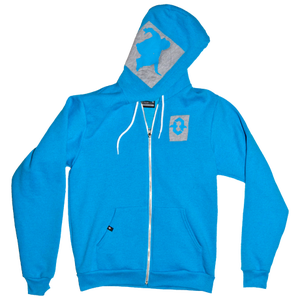 Image of Tru Freedom Patch Hoodie (Blue)