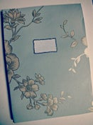 Image of Blue Flower Customize Notebook