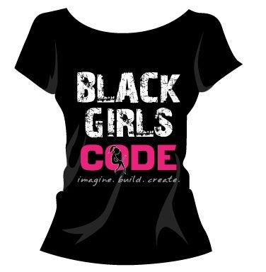 Image of Legacy Logo/Black Girls Code Tshirt: GRAFFITI