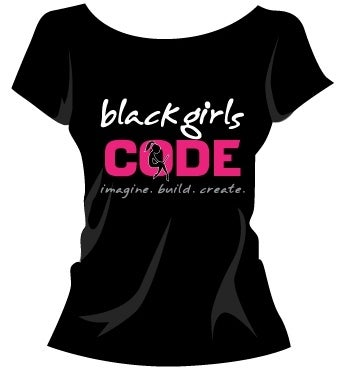 Image of Black Girls Code Tshirt: Design 3