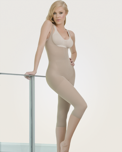 Image of Braless Capri Body C1386