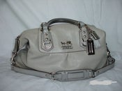 Image of Authentic Gray Coach Sabrina Bag