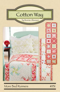 Image of More Bed Runners - Paper Pattern #931