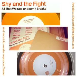 Image of All that we see or seem/Breaks Lmtd Orange Vinyl