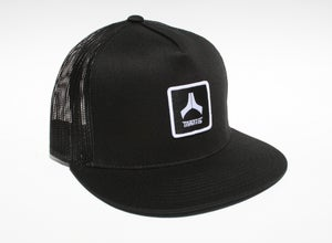 Image of Mantis Hat - Mesh Snapback / Patch / All Black