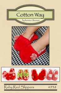 Image of Ruby Red Slippers - PDF Pattern #938