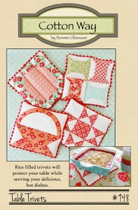 Image of Table Trivets - Paper Pattern #948