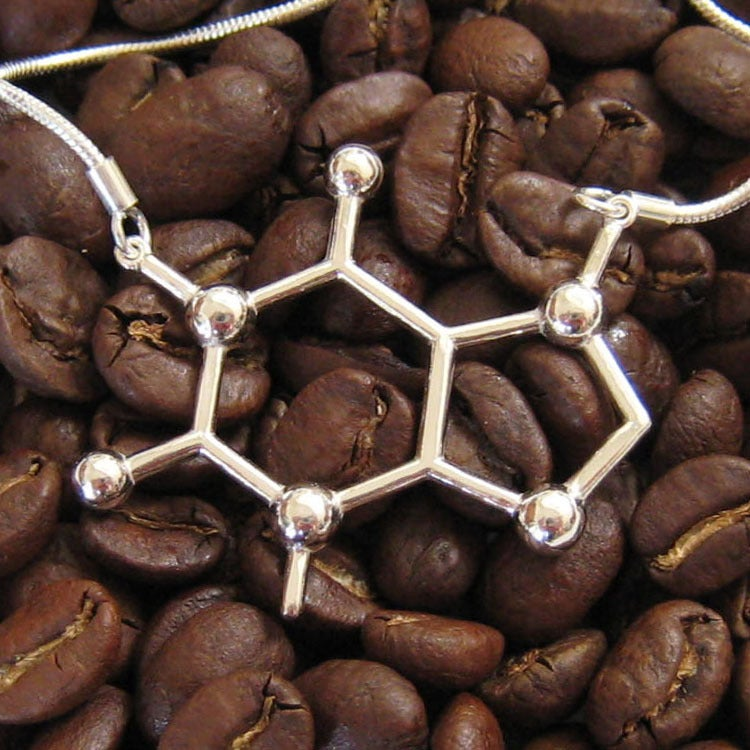 Image of caffeine necklace