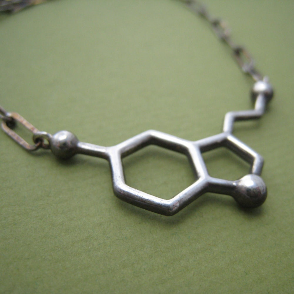 Image of serotonin necklace - chunky