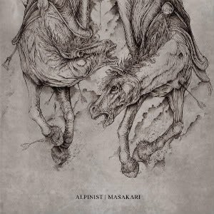 Image of Alpinist / Masakari - Split LP (Halo Of Flies)