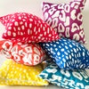 Recycled Canvas Pillow Covers | Recycled Canvas Throw Pillows