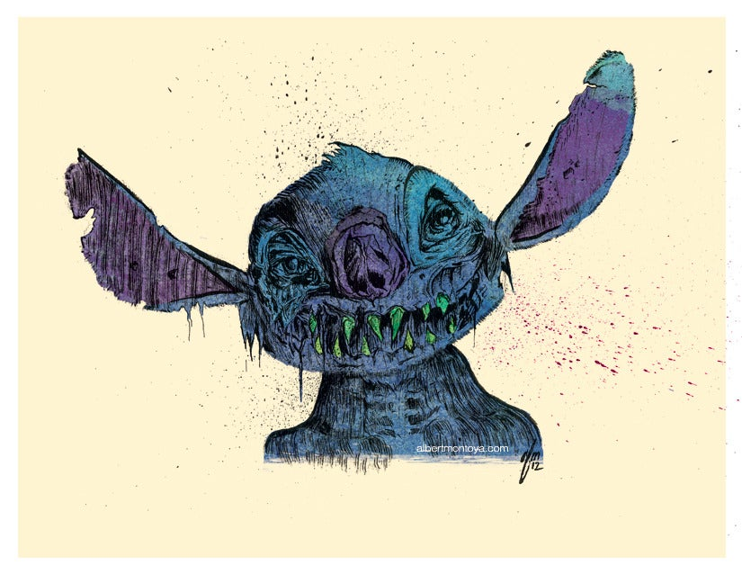 Image of Print 'Zombie Stitch'