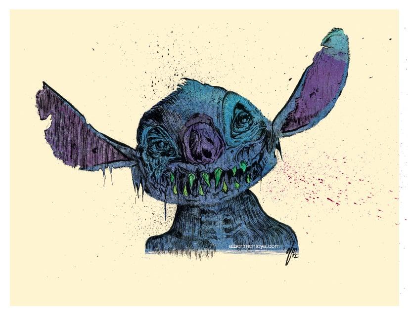 Image of Print 'Zombie Stitch'