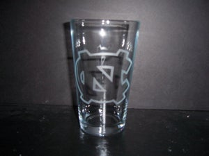 Image of UNC Drinking Glass