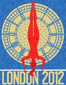 Image of London 2012 Olympics Poster: Gymnastics