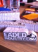 Image of FadedIndustry.com Die Cut Stickers