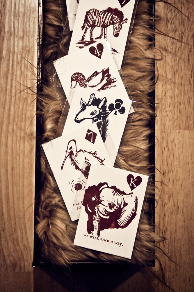 Image of Animal Playing Cards
