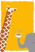 Image of Coffee, Thee & Me Silkscreen Art Print