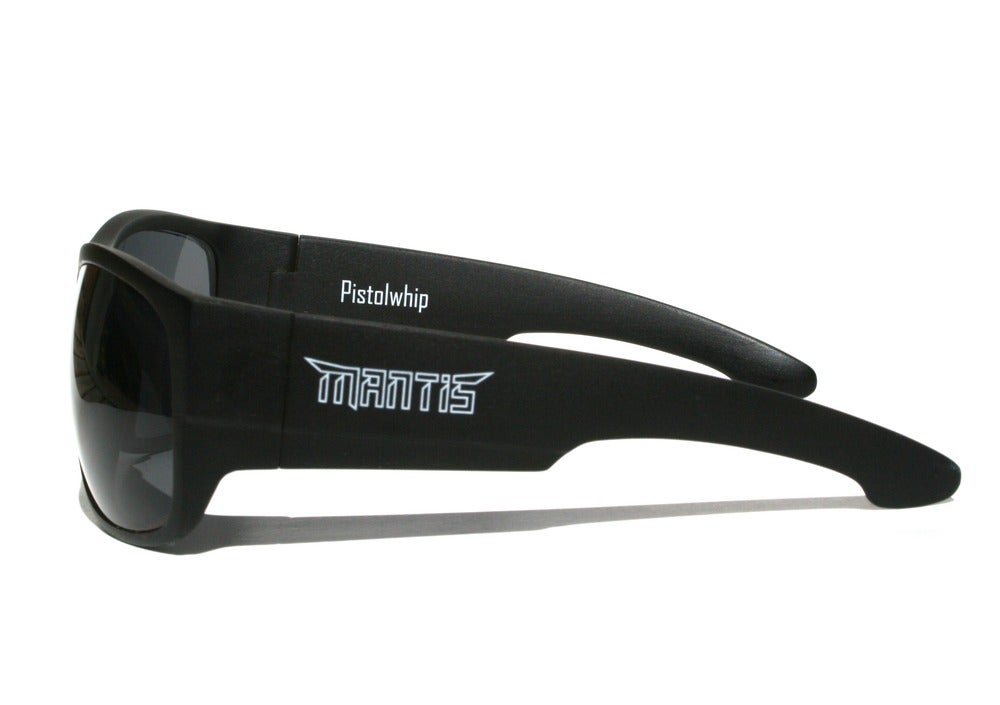 Image of Fishing Sunglasses - Pistolwhip - Matte Black / Polarized / Recon