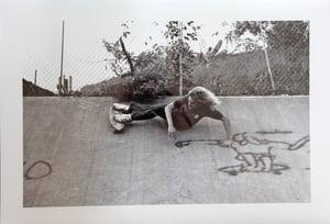 Image of Vintage Dick Hoole Skateboarding Images - Tony Alva
