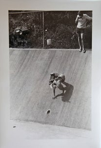 Image of Vintage Dick Hoole Skateboard Prints - Jay Adams