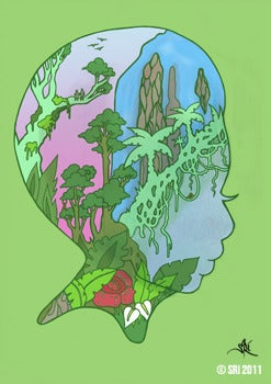 Image of Biosphere Print