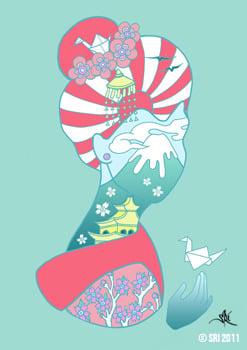 Image of Sakura Print