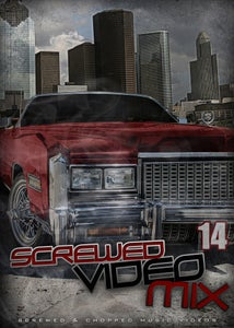 Image of Screwed Video Mix Vol 14 - Si Somos Callejeros